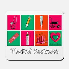 Medical Assistant Pop Art 2 Mousepad