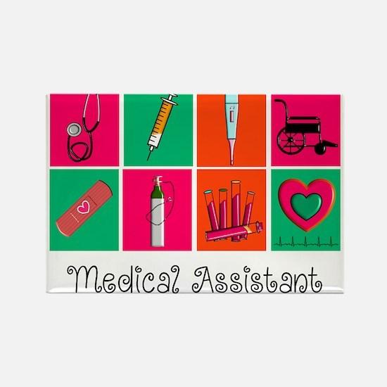 Medical Assistant Pop Art 2 Magnets