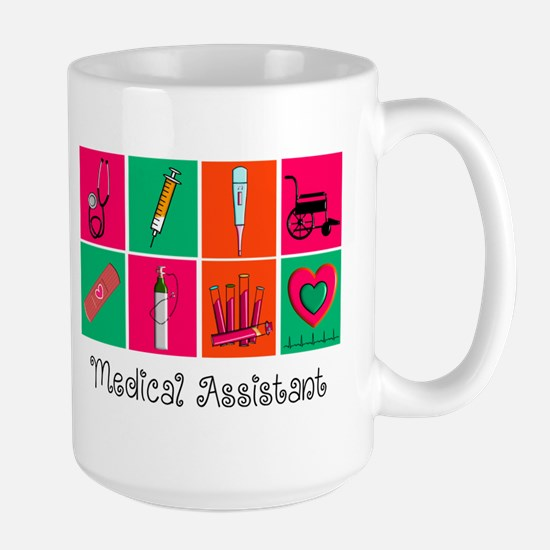 Medical Assistant Pop Art 2 Mugs