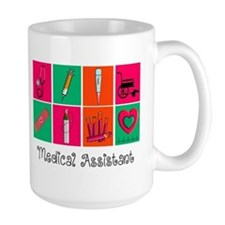 Medical Assistant Pop Art 2 Mugs