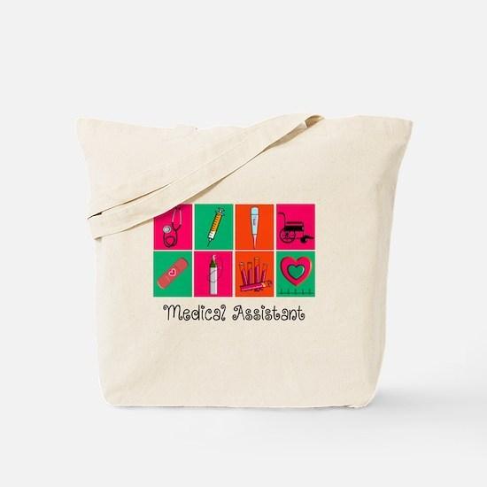 Medical Assistant Pop Art 2 Tote Bag