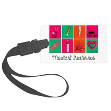 Medical Assistant Pop Art 2 Luggage Tag