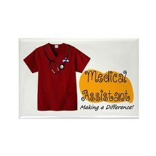 Medical Assistant Badge Magnets
