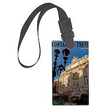 Rome - Trevi Fountain Luggage Tag