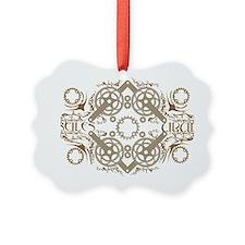 circles_brown Ornament