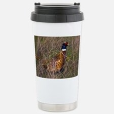 (6) Pheasant  407 Stainless Steel Travel Mug
