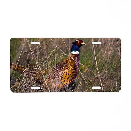 (6) Pheasant 407 Aluminum License Plate