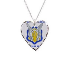 1-17TH CAV RGT WITH TEXT Necklace