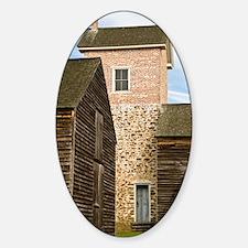Batsto Tower - Print Sticker (Oval)