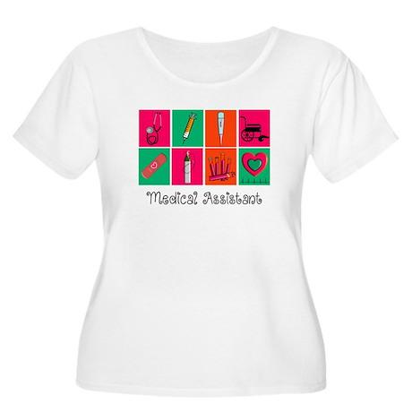 Medical Assistant Pop Art 2 Plus Size T-Shirt