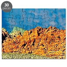 Red Rock Canyon State Park Postcards and No Puzzle