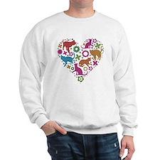 HEART OF CATS Sweatshirt