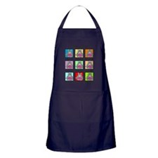 MANY MOODS 2PS Apron (dark)