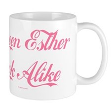 Queen Esther Look Alike Flat Mug