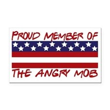 proud angry mob Rectangle Car Magnet