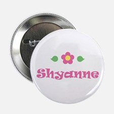 "Pink Daisy - ""Shyanne"" Button"