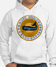 whate patch transparent Hoodie
