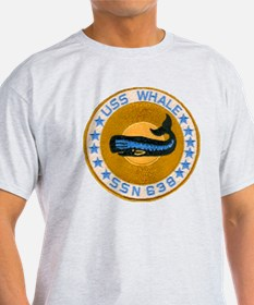whate patch transparent T-Shirt