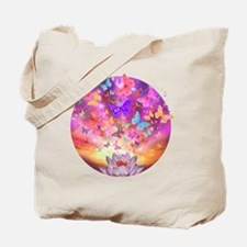 2-celestial_butterfly_circle Tote Bag