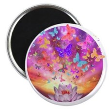 2-celestial_butterfly_circle Magnet