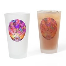 2-celestial_butterfly_circle Drinking Glass