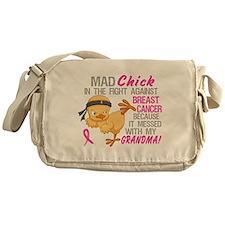 Mad Chick 3L Breast Cancer Messenger Bag