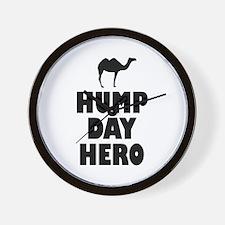 Hump Day Hero Wall Clock