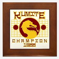 Kumite Framed Tile