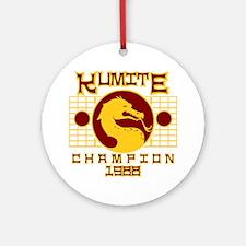 Kumite Round Ornament