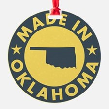 Made-In-OKLAHOMA Ornament