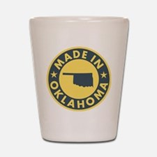 Made-In-OKLAHOMA Shot Glass