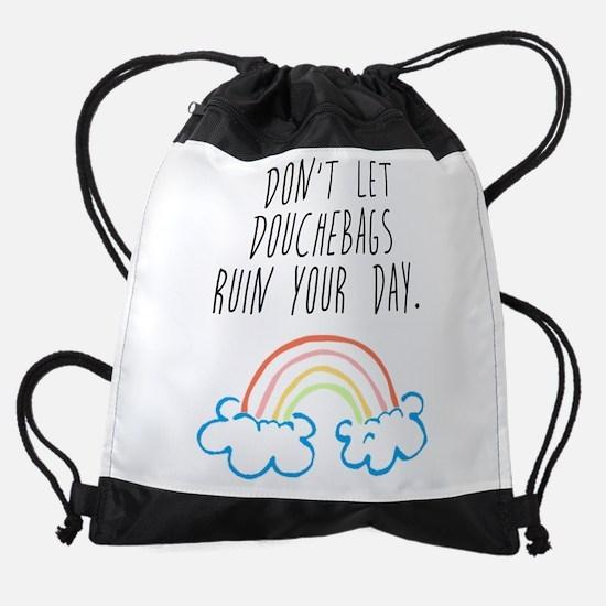 Douchebags Drawstring Bag