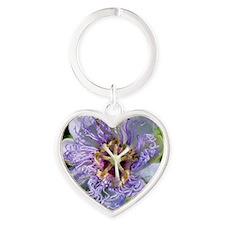 Passiflora T-Shirt Heart Keychain