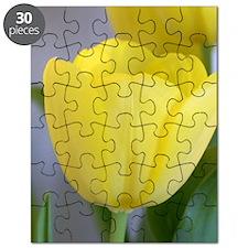 Yellow Tulip Keepsake Box Puzzle