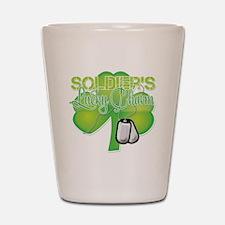 LuckyCharm_Soldier Shot Glass