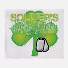 LuckyCharm_Soldier Throw Blanket