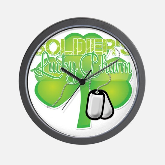 LuckyCharm_Soldier Wall Clock
