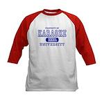 Karaoke University Kids Baseball Jersey