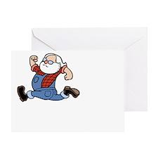 run-johnny-DKT Greeting Card