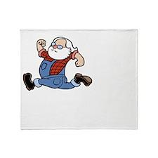 run-johnny-DKT Throw Blanket