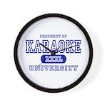 Karaoke University Wall Clock