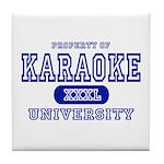Karaoke University Tile Coaster