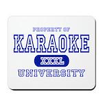Karaoke University Mousepad