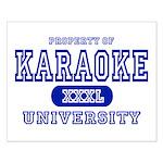 Karaoke University Small Poster