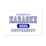 Karaoke University Mini Poster Print