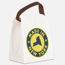 2-Made-In-nEW-yORK Canvas Lunch Bag