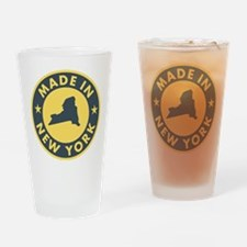 2-Made-In-nEW-yORK Drinking Glass
