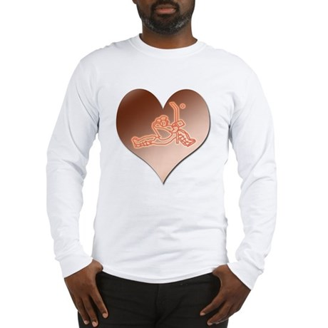 Heartminder (copper) Long Sleeve T-Shirt