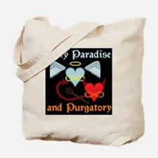 poly paradise  purgatory logo final big Tote Bag