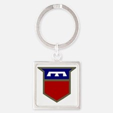 76th Infantry Division Square Keychain